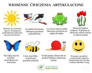 wiosenne ćw. logopedyczne