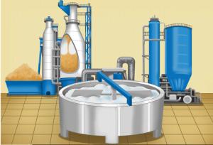 3- Jak powstaje papier - masa do produkcji papieru w kadzi