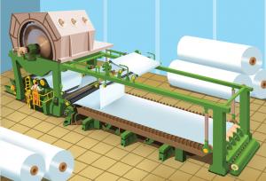 4 - Jak powstaje papier - zwijanie papieru w bele