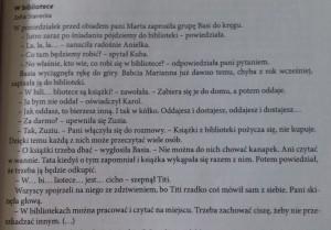 Zofia Stanecka - W bibliotece (1)