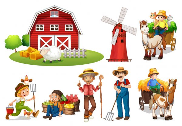 depositphotos_52594063-stock-illustration-farm-set