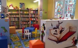 kącik dla dzieci w bibliotece