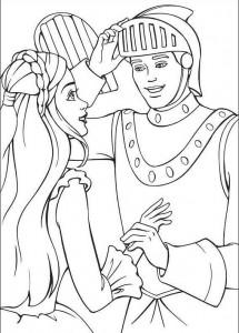 księżcznika i rycerz